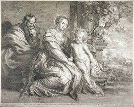 The Holy Family with the Parrot