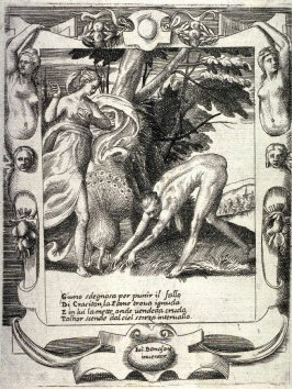 Juno Sending Famine Against Crasiton, from the series The Loves, Rages, and Jealousies of Juno