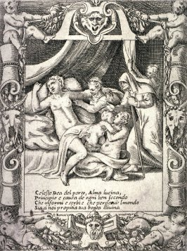 A Woman In Labor Imploring the Aid of Lucina, Goddess of Childbirth, from the series The Loves, Rages, and Jealousies of Juno