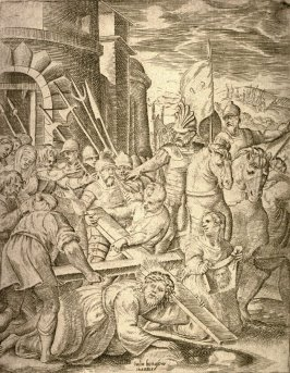 The Bearing of the Cross, from the series The Passion of Our Lord Jesus Christ