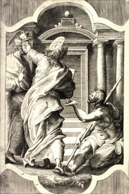 St. Peter and St. John Healing the Cripple