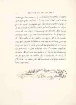 Untitled, pg. X, in the book Daphnis et Chloé by Longus (translated by Jacques Amyot) (Paris: Ambroise Vollard, 1902).