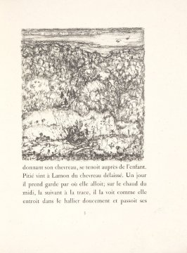 Untitled, pg. 5, in the book Daphnis et Chloé by Longus (translated by Jacques Amyot) (Paris: Ambroise Vollard, 1902).