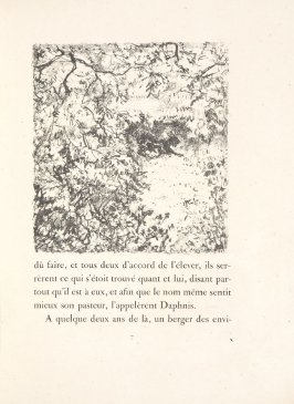 Untitled, pg. 7, in the book Daphnis et Chloé by Longus (translated by Jacques Amyot) (Paris: Ambroise Vollard, 1902).