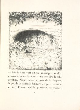 Untitled, pg. 11, in the book Daphnis et Chloé by Longus (translated by Jacques Amyot) (Paris: Ambroise Vollard, 1902).