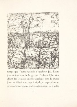 Untitled, pg. 17, in the book Daphnis et Chloé by Longus (translated by Jacques Amyot) (Paris: Ambroise Vollard, 1902).