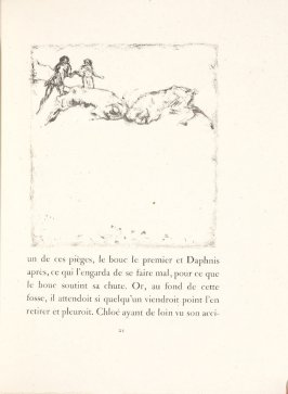 Untitled, pg. 21, in the book Daphnis et Chloé by Longus (translated by Jacques Amyot) (Paris: Ambroise Vollard, 1902).