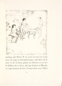 Untitled, pg. 23, in the book Daphnis et Chloé by Longus (translated by Jacques Amyot) (Paris: Ambroise Vollard, 1902).