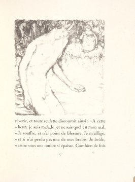 Untitled, pg. 27, in the book Daphnis et Chloé by Longus (translated by Jacques Amyot) (Paris: Ambroise Vollard, 1902).