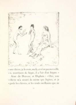 Untitled, pg. 33, in the book Daphnis et Chloé by Longus (translated by Jacques Amyot) (Paris: Ambroise Vollard, 1902).