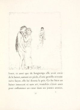 Untitled, pg. 35, in the book Daphnis et Chloé by Longus (translated by Jacques Amyot) (Paris: Ambroise Vollard, 1902).