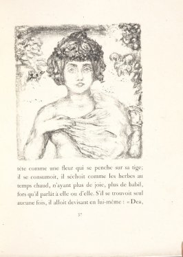 Untitled, pg. 37, in the book Daphnis et Chloé by Longus (translated by Jacques Amyot) (Paris: Ambroise Vollard, 1902).