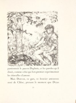 Untitled, pg. 39, in the book Daphnis et Chloé by Longus (translated by Jacques Amyot) (Paris: Ambroise Vollard, 1902).