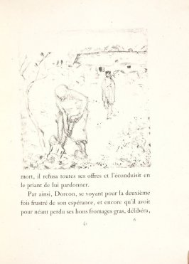 Untitled, pg. 41, in the book Daphnis et Chloé by Longus (translated by Jacques Amyot) (Paris: Ambroise Vollard, 1902).