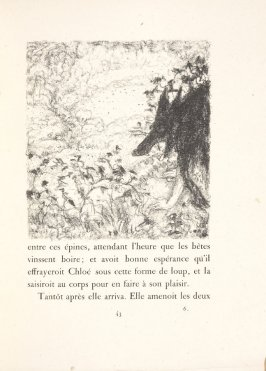Untitled, pg. 43, in the book Daphnis et Chloé by Longus (translated by Jacques Amyot) (Paris: Ambroise Vollard, 1902).