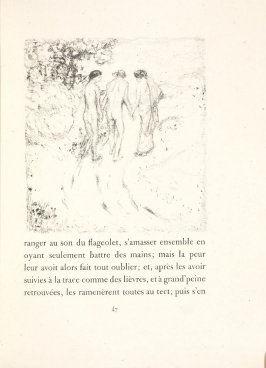 Untitled, pg. 47, in the book Daphnis et Chloé by Longus (translated by Jacques Amyot) (Paris: Ambroise Vollard, 1902).