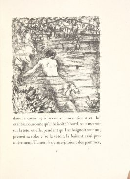 Untitled, pg. 51, in the book Daphnis et Chloé by Longus (translated by Jacques Amyot) (Paris: Ambroise Vollard, 1902).