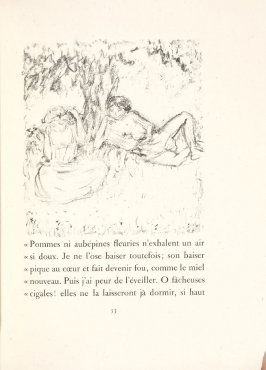 Untitled, pg. 53, in the book Daphnis et Chloé by Longus (translated by Jacques Amyot) (Paris: Ambroise Vollard, 1902).