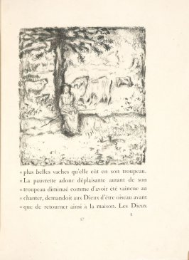 Untitled, pg. 57, in the book Daphnis et Chloé by Longus (translated by Jacques Amyot) (Paris: Ambroise Vollard, 1902).