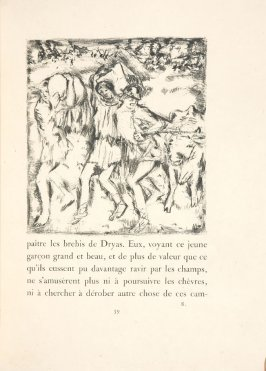 Untitled, pg. 59, in the book Daphnis et Chloé by Longus (translated by Jacques Amyot) (Paris: Ambroise Vollard, 1902).