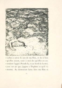 Untitled, pg. 61, in the book Daphnis et Chloé by Longus (translated by Jacques Amyot) (Paris: Ambroise Vollard, 1902).