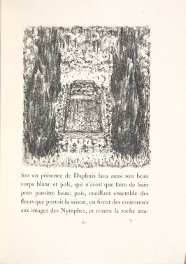 Untitled, pg. 67, in the book Daphnis et Chloé by Longus (translated by Jacques Amyot) (Paris: Ambroise Vollard, 1902).