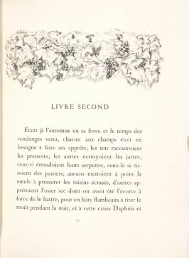 Untitled, pg. 71, in the book Daphnis et Chloé by Longus (translated by Jacques Amyot) (Paris: Ambroise Vollard, 1902).