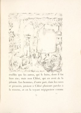 Untitled, pg. 73, in the book Daphnis et Chloé by Longus (translated by Jacques Amyot) (Paris: Ambroise Vollard, 1902).