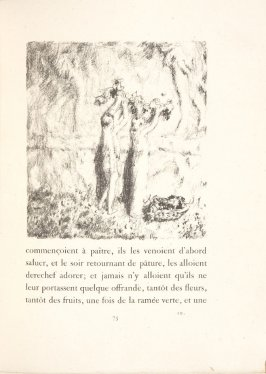 Untitled, pg. 75, in the book Daphnis et Chloé by Longus (translated by Jacques Amyot) (Paris: Ambroise Vollard, 1902).