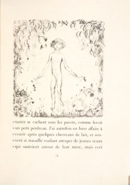 Untitled, pg. 79, in the book Daphnis et Chloé by Longus (translated by Jacques Amyot) (Paris: Ambroise Vollard, 1902).