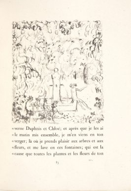 Untitled, pg. 83, in the book Daphnis et Chloé by Longus (translated by Jacques Amyot) (Paris: Ambroise Vollard, 1902).