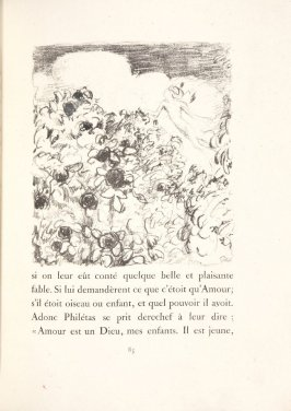 Untitled, pg. 85, in the book Daphnis et Chloé by Longus (translated by Jacques Amyot) (Paris: Ambroise Vollard, 1902).