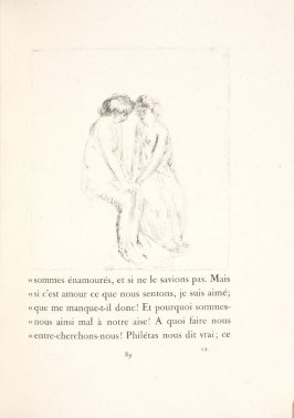 Untitled, pg. 89, in the book Daphnis et Chloé by Longus (translated by Jacques Amyot) (Paris: Ambroise Vollard, 1902).
