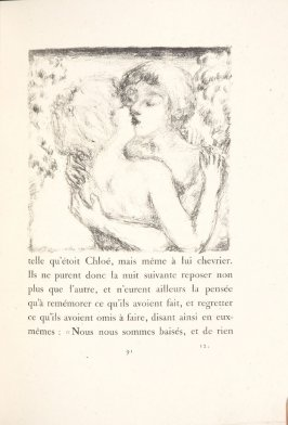 Untitled, pg. 91, in the book Daphnis et Chloé by Longus (translated by Jacques Amyot) (Paris: Ambroise Vollard, 1902).