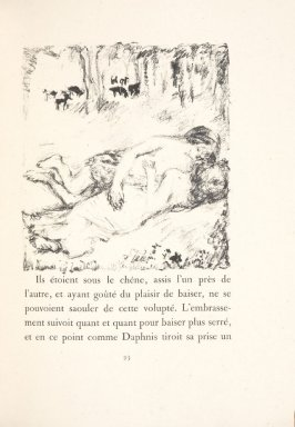 Untitled, pg. 93, in the book Daphnis et Chloé by Longus (translated by Jacques Amyot) (Paris: Ambroise Vollard, 1902).