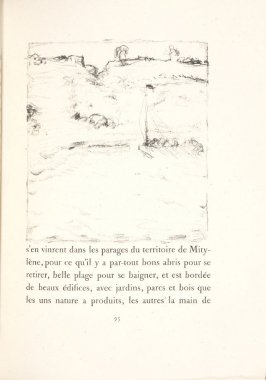 Untitled, pg. 95, in the book Daphnis et Chloé by Longus (translated by Jacques Amyot) (Paris: Ambroise Vollard, 1902).
