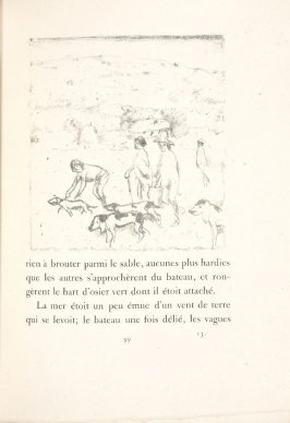 Untitled, pg. 99, in the book Daphnis et Chloé by Longus (translated by Jacques Amyot) (Paris: Ambroise Vollard, 1902).
