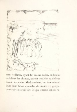 Untitled, pg. 101, in the book Daphnis et Chloé by Longus (translated by Jacques Amyot) (Paris: Ambroise Vollard, 1902).