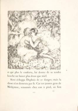 Untitled, pg. 107, in the book Daphnis et Chloé by Longus (translated by Jacques Amyot) (Paris: Ambroise Vollard, 1902).