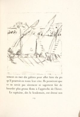 Untitled, pg. 109, in the book Daphnis et Chloé by Longus (translated by Jacques Amyot) (Paris: Ambroise Vollard, 1902).