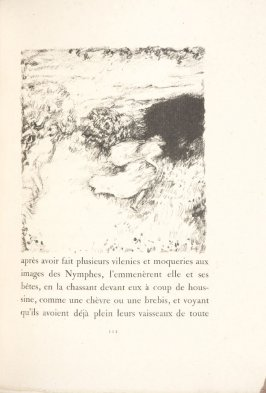Untitled, pg. 111, in the book Daphnis et Chloé by Longus (translated by Jacques Amyot) (Paris: Ambroise Vollard, 1902).