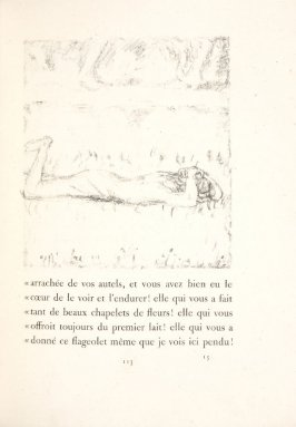 Untitled, pg. 113, in the book Daphnis et Chloé by Longus (translated by Jacques Amyot) (Paris: Ambroise Vollard, 1902).