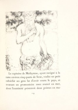 Untitled, pg. 119, in the book Daphnis et Chloé by Longus (translated by Jacques Amyot) (Paris: Ambroise Vollard, 1902).