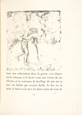 Untitled, pg. 129, in the book Daphnis et Chloé by Longus (translated by Jacques Amyot) (Paris: Ambroise Vollard, 1902).