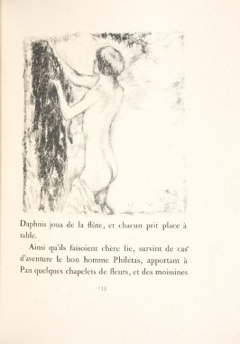 Untitled, pg. 133, in the book Daphnis et Chloé by Longus (translated by Jacques Amyot) (Paris: Ambroise Vollard, 1902).