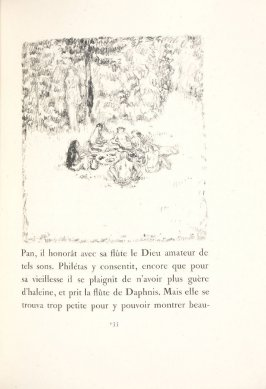 Untitled, pg. 135, in the book Daphnis et Chloé by Longus (translated by Jacques Amyot) (Paris: Ambroise Vollard, 1902).