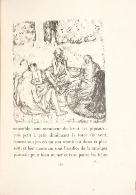 Untitled, pg. 139, in the book Daphnis et Chloé by Longus (translated by Jacques Amyot) (Paris: Ambroise Vollard, 1902).