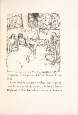 Untitled, pg. 141 , in the book Daphnis et Chloé by Longus (translated by Jacques Amyot) (Paris: Ambroise Vollard, 1902).