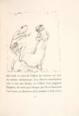 Untitled, pg. 143, in the book Daphnis et Chloé by Longus (translated by Jacques Amyot) (Paris: Ambroise Vollard, 1902).