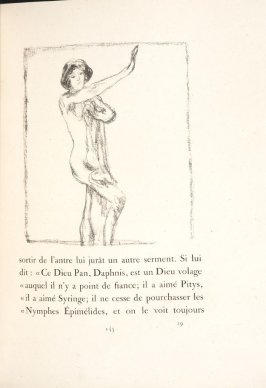 Untitled, pg. 145, in the book Daphnis et Chloé by Longus (translated by Jacques Amyot) (Paris: Ambroise Vollard, 1902).